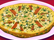 Creame cheese fritatta