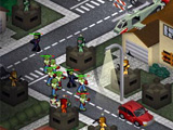 Mercenaries vs zombies