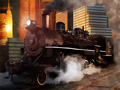 Delivery steam train