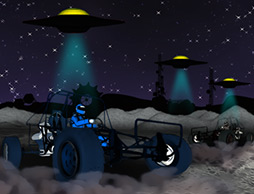 Buggy Space Race